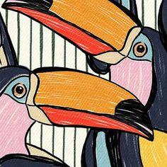 Ideas Geometric Bird Pattern Art Prints For 2019 Bird Wallpaper Bedroom, Red Bird Tattoos, Geometric Bird, Love Birds Painting, Bird Artwork, Vintage Drawing, Tropical Art, Bird Patterns, Bird Illustration