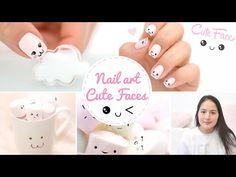 Nail art Kawaii Japan Expo ♡ Cute faces かわいい - YouTube
