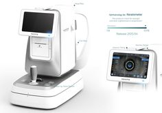 Ophthalmology set on Behance