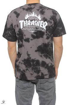 Koszulka Huf X Thrasher TDS Crystal Wash