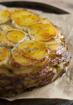 Classic French Potatoes Anna – Gratin Pie with a Creamy Twist