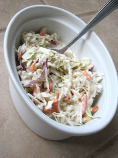 KFC copycat Cole Slaw Recipe...This is soooo good and extremely close to KFC!! Make it all the time and family loves it