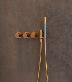 Vola bathroom products in Copper / Rose-Gold: Available from ukBathrooms! Wohnhaus in Heppenheim