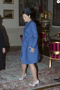 Swedish Royals attended the welcoming ceremony of the Tunisian President in Stockholm on November 4, 2015.
