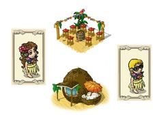 The Tikifestival starts tomorrow! Many new items are waiting for you!  Do not miss them!