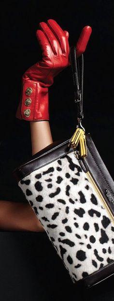 fashion coach bags SNOW LEOPARD ~ Coach Handbag coach outlet online