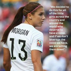 The #USWNT has filed a lawsuit against #USsoccer for wage discrimination. #equalplayequalpay #alexmorgan #BeautyIsABeast