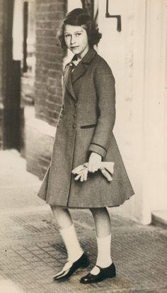Princess Elizabeth later to become Queen Elizabeth II