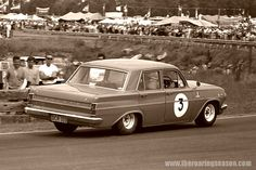 Brian Muir EH Holden, pre British Touring Car days.