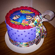 """""""Henry Danger"""" Inspired 6"""" Birthday Cake"""