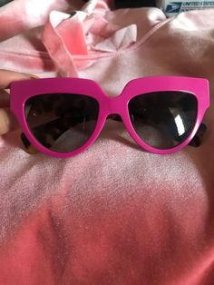 fc4da47dfbc5 Hot Pink Prada Sunglasses Tortoise Arms Authentic  fashion  clothing  shoes   accessories