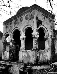 Capela fam. ANTONESCU EM.   - Bellu cemetery - Ion Mincu Catacombs, Graveyards, Cemetery, Romania, Ems, Castle, Marvel, Puppies, Crochet Granny