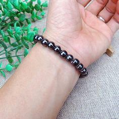 Bracelets Hematite Magnetic Therapy Weight Loss Bracelet Black Stone Slimming Bangles Amd Men Metal Color No 1 Make Money Online, How To Make Money, Magnet Therapy, Bangles, Beaded Bracelets, Toe Rings, Stone Beads, Weight Loss, Mens Fashion