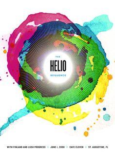 Helio sequence poster by Karen Kurycki