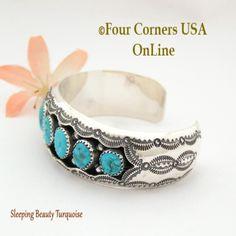 Four Corners USA Online - Sleeping Beauty Turquoise Shadow Box Cuff Bracelet Wilbert Muskett Native American Jewelry NAC-1436, $326.00 (http://stores.fourcornersusaonline.com/sleeping-beauty-turquoise-shadow-box-cuff-bracelet-wilbert-muskett-native-american-jewelry-nac-1436/)