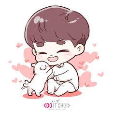 Find images and videos about kpop, exo and d.o on We Heart It - the app to get lost in what you love. Kyungsoo, Kaisoo, Chanbaek, Exo Anime, New Year Wallpaper, Exo Fan Art, Yoo Ah In, Bts Chibi, Chibi Boy