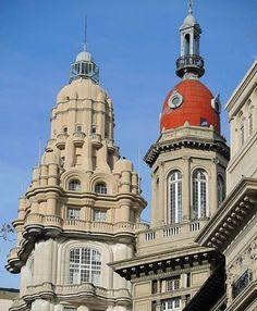 Cupulas y Ornamentos de Buenos Aires , Arquitectura Argentina