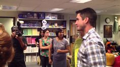 The Office Set Visit with David Freese and Matt Holliday