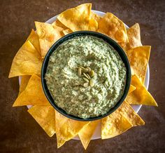 Easy Pepita Dip (and Spread) | Mexican Please