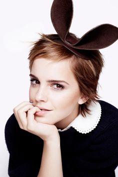 Rankin - Vogue Magazine, Emma Watson portrait