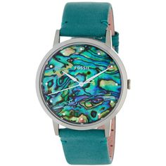 Fossil Women's Vintage Muse Watch ($62) ❤ liked on Polyvore featuring jewelry, watches, no color, vintage watches, fossil jewellery, vintage jewelry, fossil watches and buckle watches