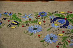 Basic Colors, Colours, Folk Print, Polish Folk Art, Folk Clothing, Machine Embroidery Designs, Objects, Textiles, Symbols
