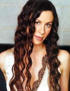 Alanis Morissette-one of my long hair inspirations was too be able to stand topless on a busy street and have no one be able to see my nipples. haha