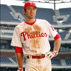 Something about baseball players :) he totally resembles my hubby too!!!! Lol