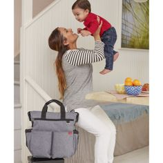 There's a New Diaper Bag In Town Called THE Skip Hop DUO- WIN ONE HERE!