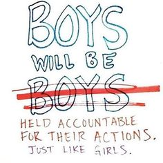 But liiiiiiiiike... Yeah. #boyswillbeboys…<< no, they will be held accountable for their actions.