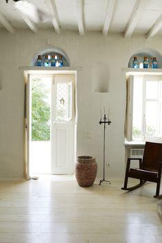 doorways-entryways-natural-exposed-beams-painted-ceilings-painted-floors-wood-floors