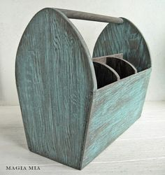 Magia Mia: Weathered Wood And Tiffany Blue Chalk Paint color for my windmill?