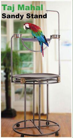 Pedicura Twin Perchas para aves de todos los tamaños de hasta African greys