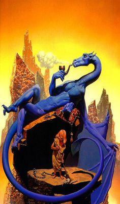 Blue Dragon, 1984 // Richard Corben