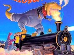 ▶ Dinosaur Train by John Steven Gurney, picture book trailer with intro author comment