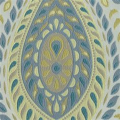 Divine Paisley Floral Peacock Upholstery Fabric - SW33844 | Discount By The Yard | Fashion Fabrics