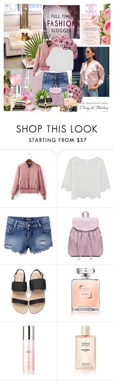 """""""Yoins 37"""" by followme734 ❤ liked on Polyvore featuring Chanel, polyvoreeditorial and yoins"""