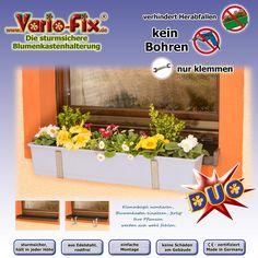 Blumenkasten Halter - DUO, für Fensterbänke (15): Amazon.de: Garten