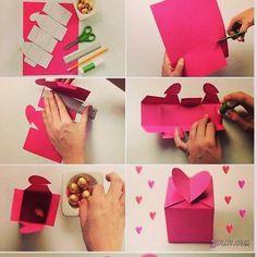 Tuto DIY pour coffret cadeau fait par soit meme :).