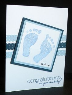 Carolyn's Paper Fantasies: Stampin' Up! Baby Prints
