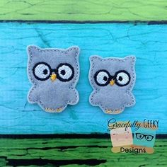 I can make these into finished hairclips or you can get them as felties at https://www.etsy.com/shop/SchoolhouseBoutique