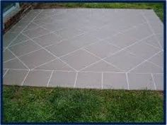 The Concrete Painter offers an expert service in cleaning and sealing brick paving without the expense and time of removing and relaying your paved area. Stained Concrete, Concrete Patio, Concrete Floors, Driveway Paint, Driveway Design, Front Verandah, Front Porch, Outdoor Paving, Paving Pattern