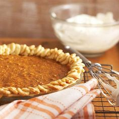 Pumpkin Butter Oatmeal Pie will please all of your holiday guests: http://www.bhg.com/recipes/desserts/pies/pumpkin/pumpkin-pie-recipes/?socsrc=bhgpin092214pumpkinbutteroatmealpie&page=10