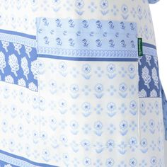 DS52-52477 フラワーボーダー柄エプロン   キッチン・エプロン&キッチンリネン   キッチン・リビング雑貨・カタログギフト通販   アフタヌーンティー公式オンラインショップ