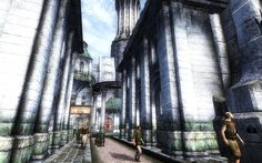 Oblivion imperial city with mods