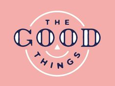 Logo Design Inspiration Discover The Good Things The Good Things by Ryan Feerer Popular Logo Branding, Logos, Typo Logo, Branding Design, Brochure Design, Typography Letters, Graphic Design Typography, Creative Typography, Graphic Quotes