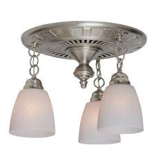 Garden District Decorative Brushed Nickel 70 Cfm Ceiling Bathroom Exhaust Fan
