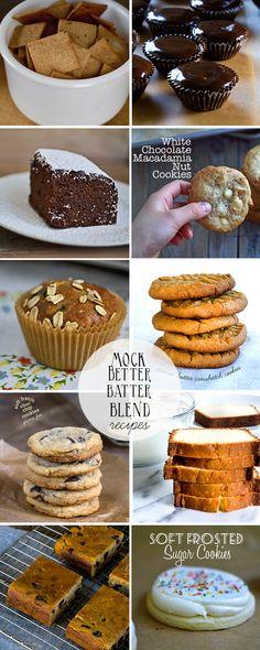 Mock Better Batter Gluten Free Flour Blend Recipes