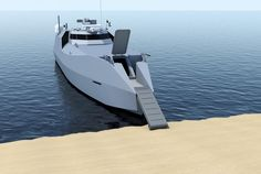CMN: un intercepteur taillé pour la projection de forces sur la côte | Mer et Marine Landing Craft, Boat, Smoke Screen, Boats