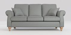 Buy Ashford Large 3 Seater Sofa (3 seats) Arid Geometric Grey Low Turned - Light from the Next UK online shop